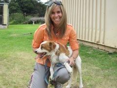 SPCA Mireille +dog